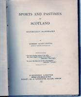 Sports And Pastimes Of Scotland