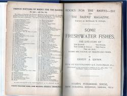 Some Freshwater Fish by Ernest A Litten