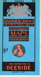 Bartholomew 's Map Deeside No. 52