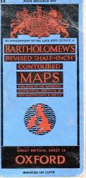 Bartholomew 's Map Oxford No. 14