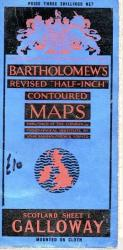 Bartholomew 's map Galloway No. 1