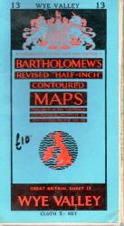 Bartholomew's Map Wye Valley No. 13