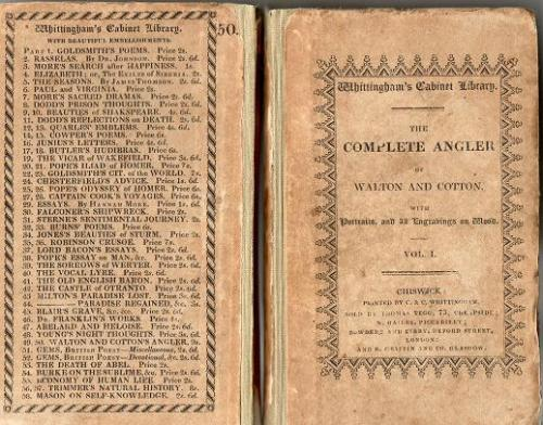 The Complete Angler In 2 Vols by Isaac Walton and Charles Cotton